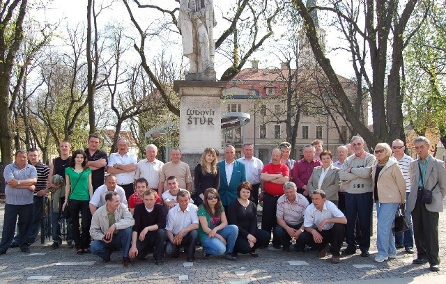 Wyjazd do Obec Jablonova, zdaniem trynieckiej delegacji, był bardzo udany. Pomimo licznych zajęć, znalazł się czas na pamiątkowe fotografie.