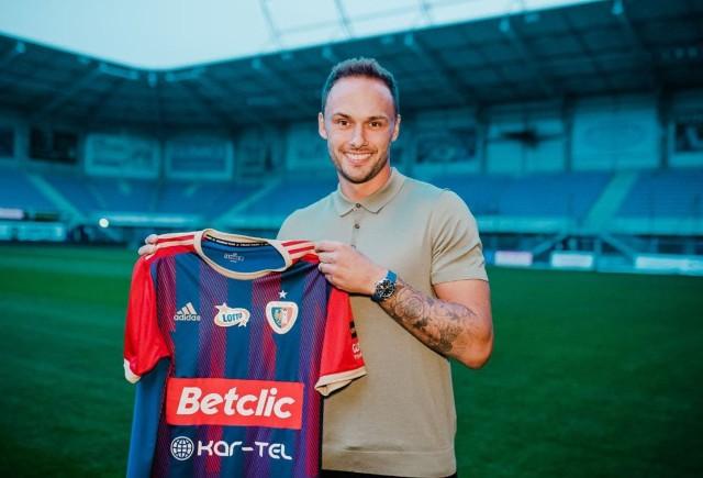 Tom Hateley ponownie został piłkarzem Piasta