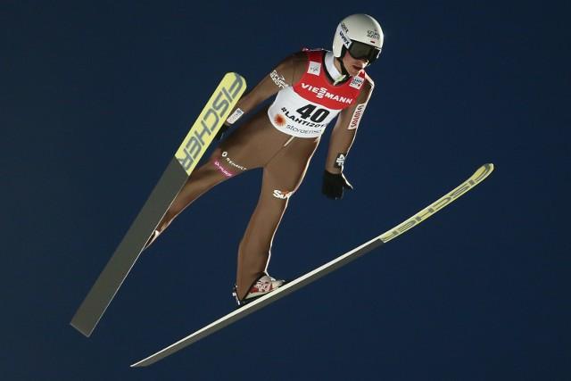 Piotr Żyła pobił w sobotę rekord Polski w długości skoku, poprawiając... swój własny rekord z serii próbnej