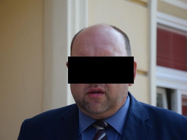 Radny miejski Tomasz S. z Przemyśla.