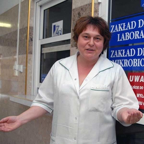 - Chcę godnie zarabiać. Mnie i pozostałym pracownikom również należy się podwyżka - mówi Bożena Sękowska.