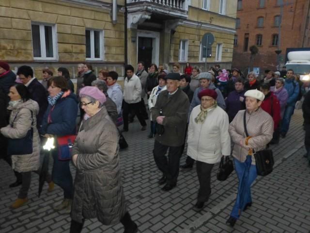 Droga Krzyżowa w Łabiszynie