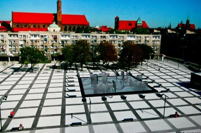Odrzucone przez jurorów projekty fontanny na placu Nowy Targ