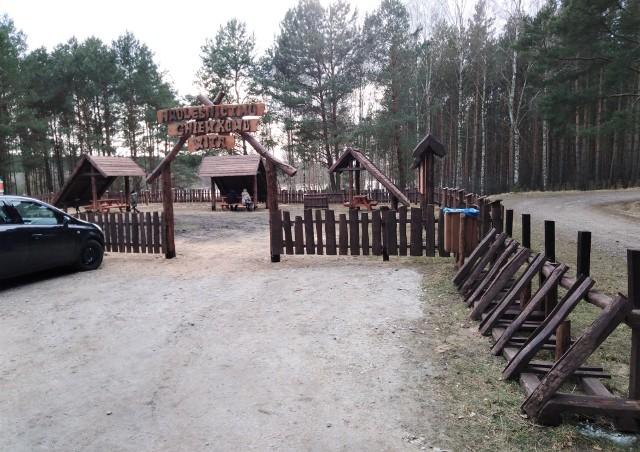 Tak prezentuje się nowy parking leśny nad jeziorem Nowym w Suchatówce