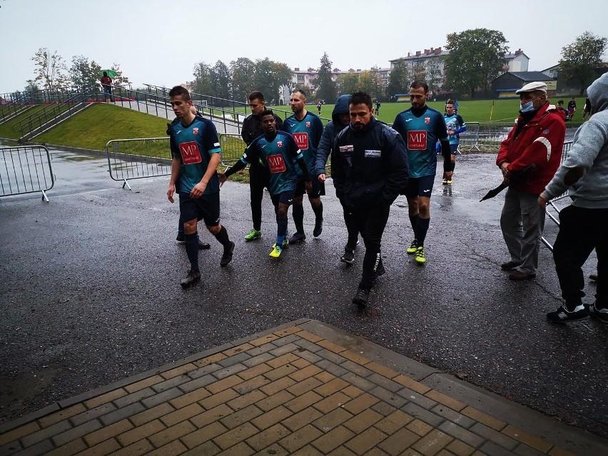 Piłkarze Mazowsza po meczu z liderem