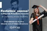 Konkurs dla autorów najlepszych prac naukowych. Absolwenci szczecińskich uczelni mogą dostać nagrody prezydenta