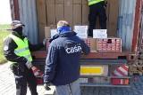 Gdańsk: Udaremniony przemyt papierosów. Do gdańskiego portu przypłynął kontener z 9 mln sztuk nielegalnego towaru