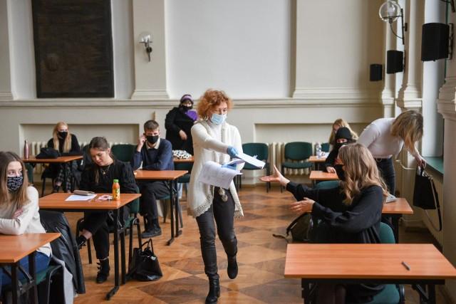 Próbne matury odbyły się w dniach 3-16 marca