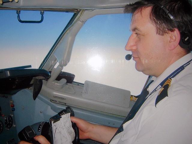 Jerzy Szwarc był drugim pilotem boeinga 767