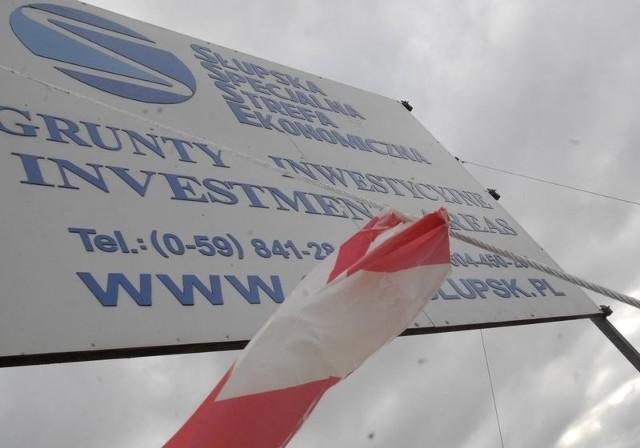 Na razie na terenie SSSE w Redzikowie niewiele się dzieje.
