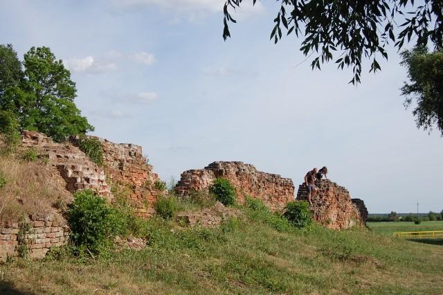 Do czasów współczesnych zachowały się jedynie fundamenty wspaniałej niegdyś budowli i niewielkie  fragmenty murów