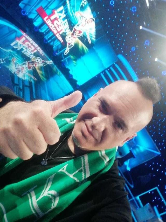 Szymon Wydra jest kibicem Radomiaka Radom, a swoją wiedze o futbolu generalnie sprawdzał w telewizyjnym turnieju.