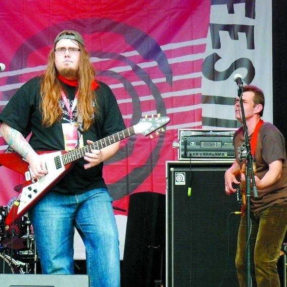 Chip Jordan zagrał ostatnio podczas suwalskiego festiwalu bluesowego