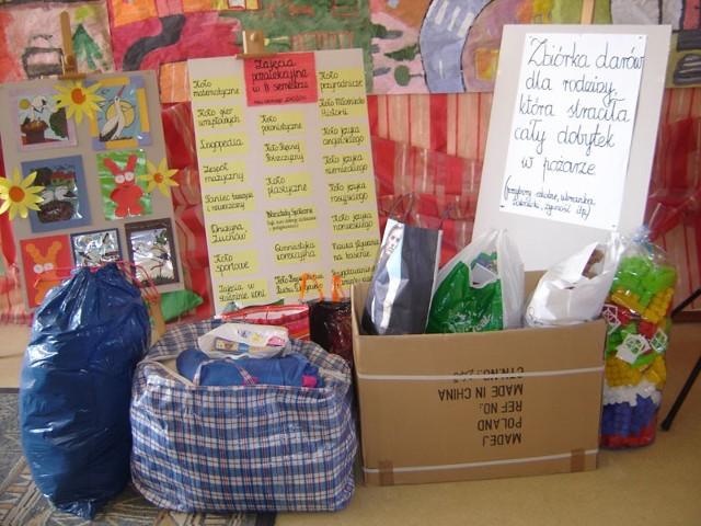 Zbiórka darówZbiórka darów