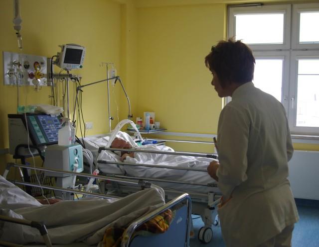 Drzwi na oddział kardiologii nie zostały wprawdzie zamknięte, ale dziś leżą tu tylko pacjenci, którzy wymagali nagłej hospitalizacji.