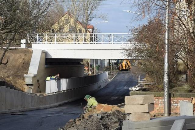 Prace związane z przebudową ulicy Batorego trwały od kwietnia 2018 roku