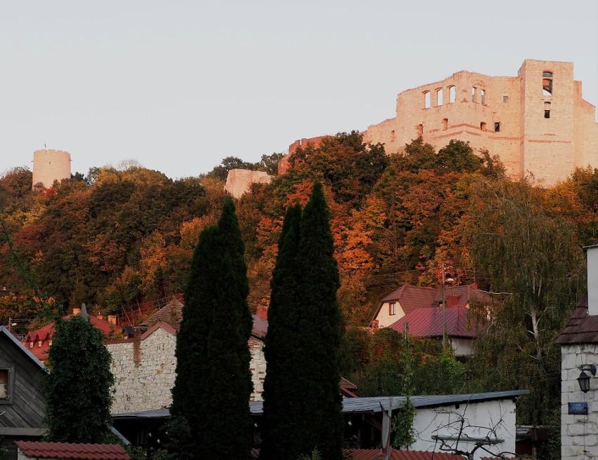 Jesienny Kazimierz Dolny. W tych krajobrazach można się zakochać! Zobacz zdjęcia ze spaceru po tym urokliwym mieście