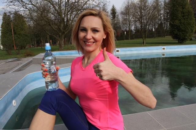 - Nie ma lepszego napoju niż woda - przekonuje Olga Chaińska.
