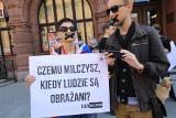 Sprzeciw wobec homofobii. Marsz Milczenia w Toruniu [zdjęcia]