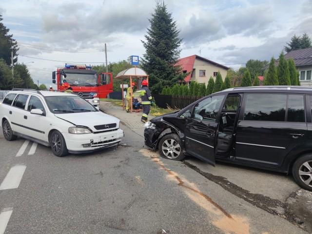 Do wypadku doszło w piątek popołudniu  na ulicy Tarnowskiej w Koszycach Wielkich