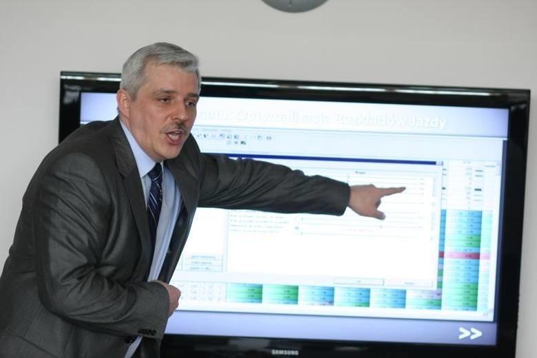 Dariusz Ciszewski, prezes KPKM Białystok