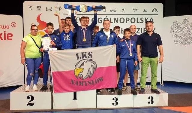 Orzeł Namysłów wygrał klasyfikację drużynową.