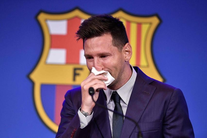 Leo Messi pożegnał się z kibicami Barcelony w bardzo...