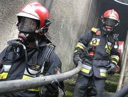 We wtorek nad ranem w jednym z bloków w Krośnie Odrzańskiej wybuchł pożar.