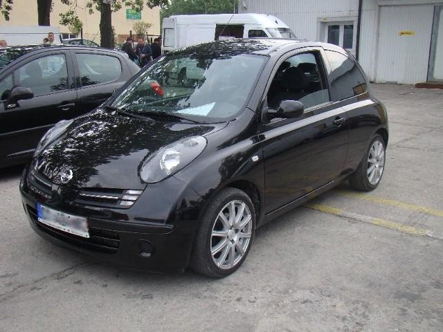 Nissan micra, rocznik 2005, sprowadzony z Niemiec, zarejestrowany, silnik diesla 82 KM, klimatyzacja, cena 18.300 zł (fot. Czesław Wachnik)