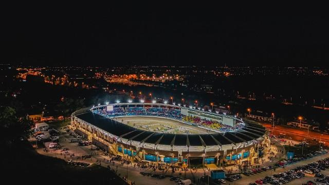 Tak efektownie prezentuje się stadion Orła przy ul. 6 Sierpnia