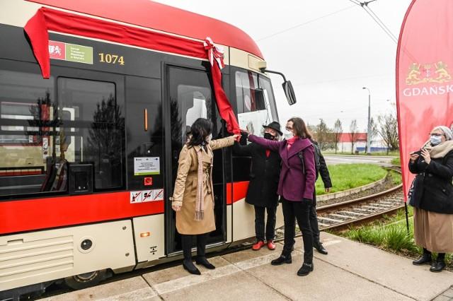 Janina Jarzynówna-Sobczak została patronką gdańskiego tramwaju 30.04.2021