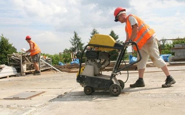 Na ulanowskiej oczyszczalni ścieków trwają już prace przy budowie nowych zbiorników.