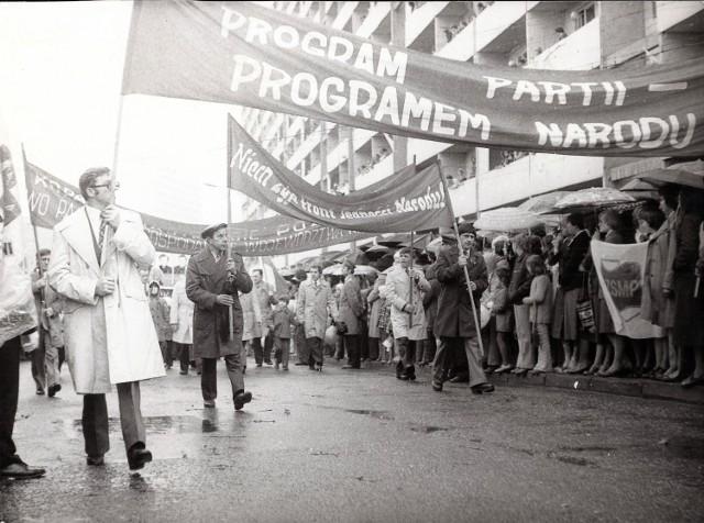 Pochody pierwszomajowe w Jastrzębiu-Zdroju