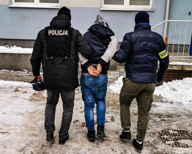 Policyjny pościg po pięciu dniach dopadł 32-letniego bandytę z Białegostoku