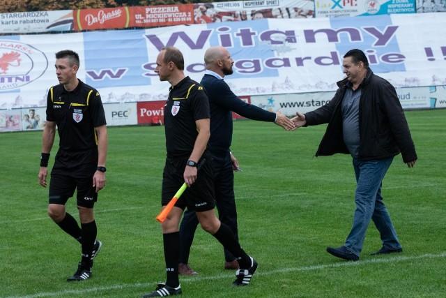Adam Topolski (z prawej) od 13 marca wraca do Błękitnych