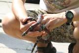 Złapano węża, który pełzał samopas po osiedlu (ZDJĘCIA)
