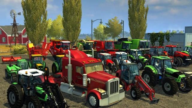 Farming SimulatorGra Farming Simulator jest dostępna w polskiej wersji językowej.