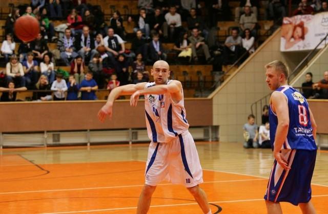AZS - TarnoviaMecz koszykówki AZS Radex Szczecin - Tarnovia Tarnowo.