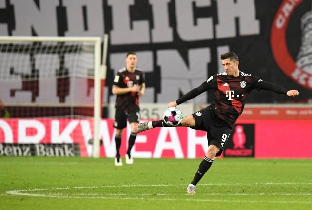 Robert Lewandowski zdobył bramkę z VfB Stuttgart