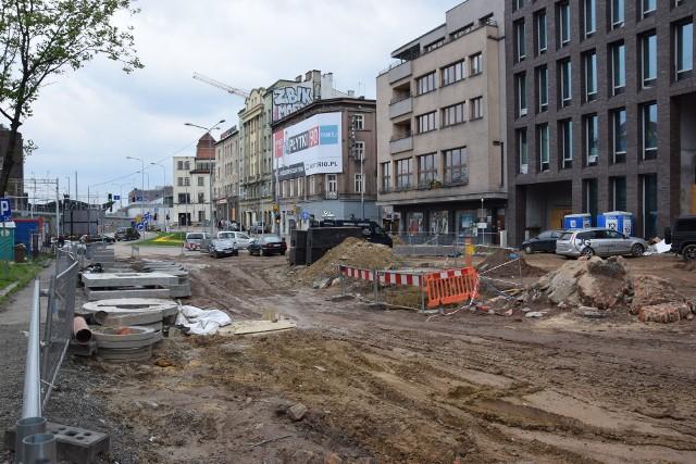 Ulica Dworcowa w Katowicach