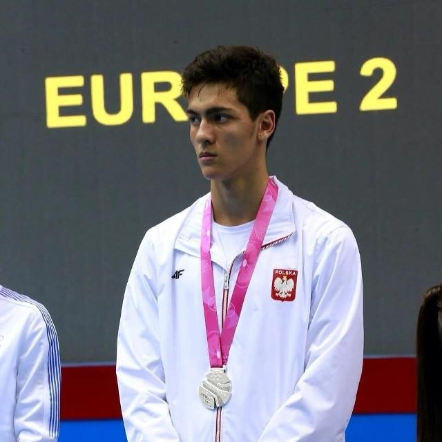 Andrzej Rządkowski, młodzieżowy mistrz olimpijski z Nankinu.