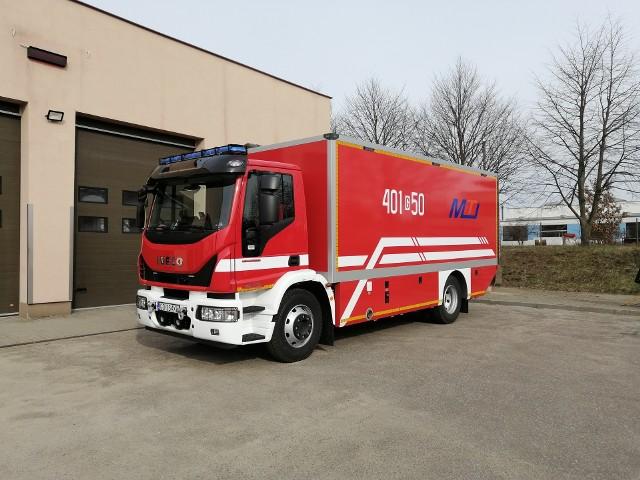 Milion za nowy wóz strażacki dla bytowskich strażaków