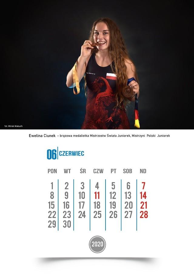 Kalendarz na 2020 roku z przedstawicielami Orła Namysłów jest pełen wyjątkowych ujęć autorstwa Mirosława Makucha.