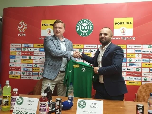 Mógłby pan wskazać swoją najlepszą decyzję podjętą w Warcie Poznań? - To już chyba mówiłem wcześniej po awansie, że tą decyzją było zatrudnienie trener Piotra Tworka - mówi Robert Graf, dyrektor sportowy Warty Poznań.