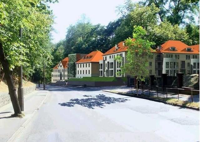 Tak mają wyglądać były szpital dziecięcy i dom dziecka po przebudowie najpóźniej do 2011 roku (wizualizacja: Budnex)