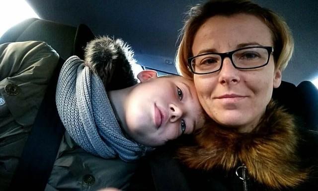 Mama Kacpra chciała uniknąć zarażenia go grypą i zaraz po badaniach chciała go zabrać do domu. - Lekarzowi się to bardzo nie spodobało - mówi Katarzyna Stanilewicz