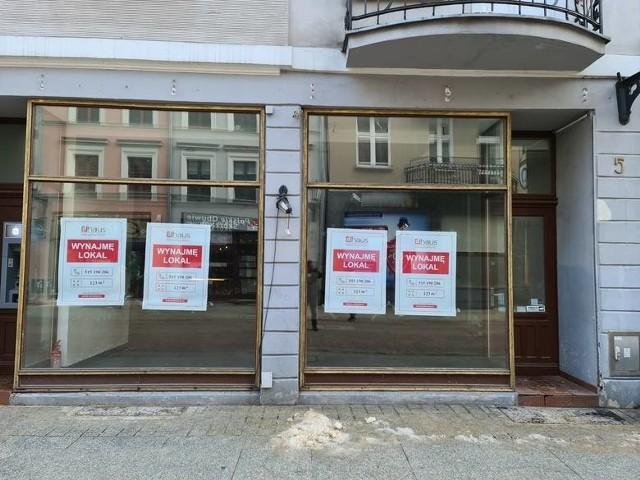 Coraz więcej pustych lokali w Toruniu...