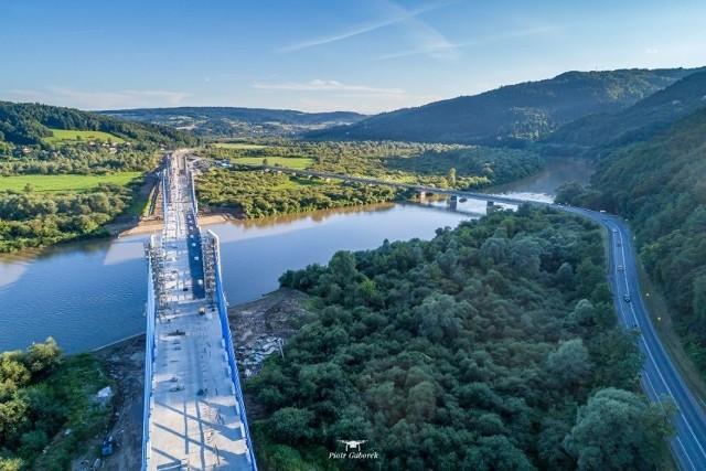 Most w Kurowie prawie gotowy. Przejedziemy nim już za miesiąc