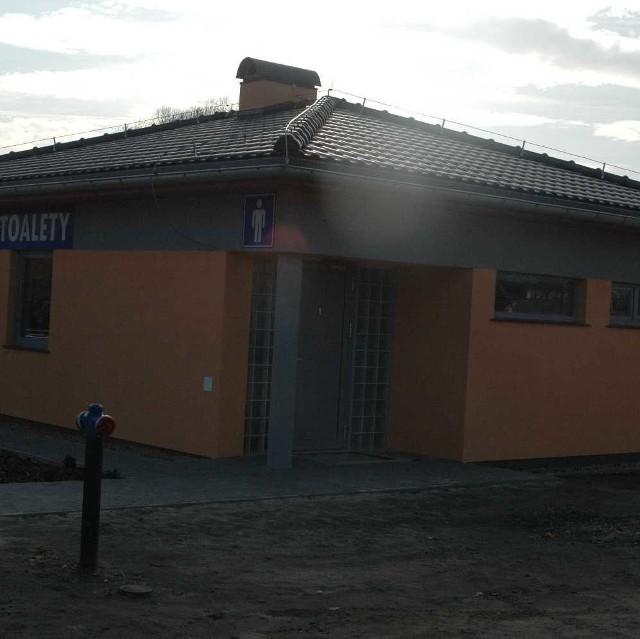 Toaleta miejska stanęła przy ul. Solnej.