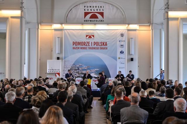 X Pomorski Kongres Obywatelski [ZDJĘCIA]